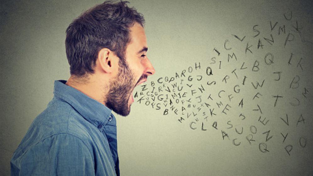 Logorrhoe und sprachwissenschaftliches Tourette-Syndrom